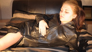 Lucy-girl-in-leather-boots-and-leather-jacket-photo