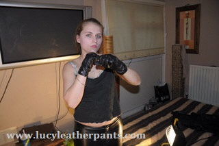 girl-in-leather-gloves-and-leather-pants-excercising