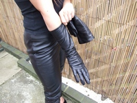 Girl-leather-pants-gloves-boots-jacket